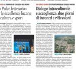 concorso letterario, basilicata, villa d'agri, sport